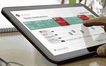 Imagen: El conjunto Geneva Healthcare Suite, diseñado para organizar los datos de múltiples fuentes dentro de un tablero intuitivo (Foto cortesía de Geneva Healthcare).