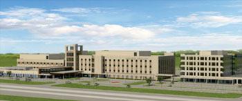 Imagen: Una reproducción artística del campus médico del Memorial Hermann Cypress (Foto cortesía del Sistema de Salud Memorial Hermann).