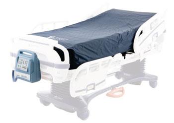 Imagen: El sistema de inmersión en fluidos (SIF), Dolphin, en una cama hospitalaria (Fotografía cortesía de Joerns Healthcare).