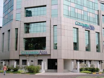 Imagen: El  Hospital Columbia Asia en Kolkata, India (Foto cortesía del Hospital Columbia Asia).