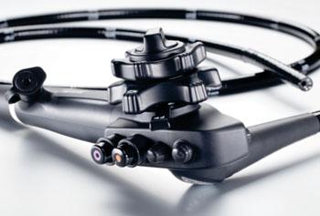 Imagen: El endoscopio Modelo i10 Serie HD+ (Fotografía cortesía de Pentax Medical).