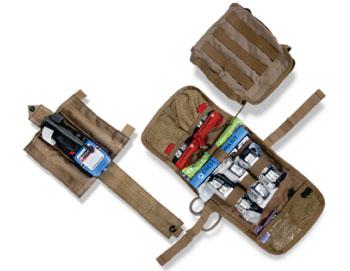 Imagen: El kit de Primeros Auxilios Individuales Mojo MARCH (Fotografía cortesía de Combat Medical Systems).