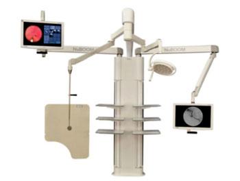 Imagen: Los soportes NuBOOM U Series M4u para salas de cirugía (Fotografía cortesía de CompView Médica).