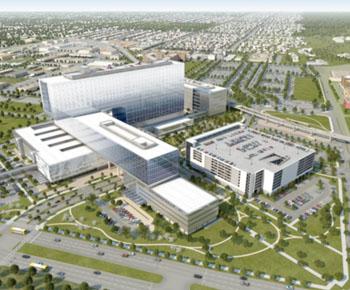 Imagen: El nuevo Hospital Parkland Memorial (Fotografía cortesía del Hospital Parkland Memorial).