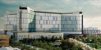 Imagen: El nuevo Hospital de la Universidad del Sur de Glasgow (Fotografía cortesía del NHS del Gran Glasgow y Clyde).