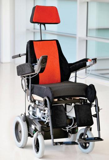 Imagen: El proyecto de silla de ruedas PUMA (Fotografía cortesía de la Asociación RUVID).