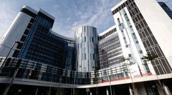 Imagen: El nuevo Hospital General Ng Teng Fong (Foto cortesía de JurongHealth).