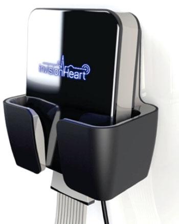Imagen: El dispositivo de InvisionHeart para ECG de 12 derivaciones (Fotografía cortesía de InvisionHeart).