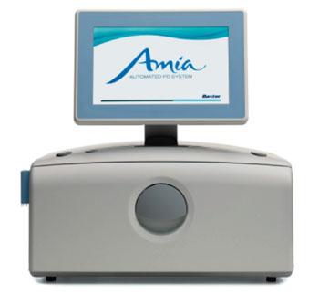 Imagen: El sistema de diálisis peritoneal automatizada AMIA APD (Fotografía cortesía de Baxter).
