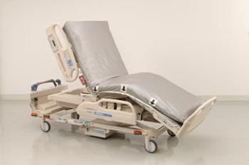 Imagen: La cubierta del colchón del sistema de protección de camas Trinity (Fotografía cortesía de Trinity Guardion).