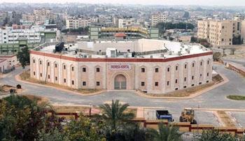 Imagen: El nuevo Hospital Indonesia en el norte de la franja de Gaza (Fotografía cortesía de MER-C).